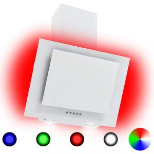 Rozsdamentes acél és edzett üveg RGB páraelszívó LED-del 60 cm