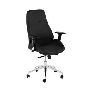 Fromm & Starck Irodai szék - főnöki szék - műbőr - króm - 150 kg STAR_SEAT_28