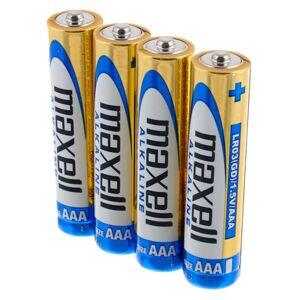 Maxell LR03 AAA Batterie 4-er Set