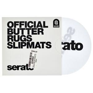 """Serato 7""""""""Butter Rugs Slipmat white"""