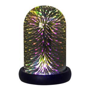 Rábalux Joyce, színes, tükröződő dekorációs asztali lámpa, 3xAAA - Rábalux