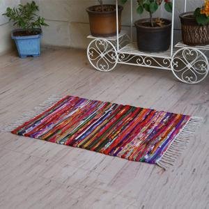 Home&Mode Színes rongyszőnyeg, 60 x 90 cm