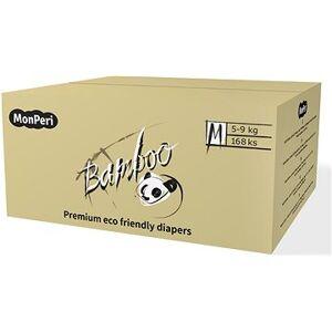 MonPeri Bamboo ÖKO M (3-as méret) 5-9 kg Mega pack 168 db