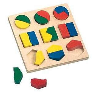 Bino Puzzle - geometriai alakzatok