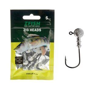 Zfish Jig Head 4 g, méret: 1/0 5 db