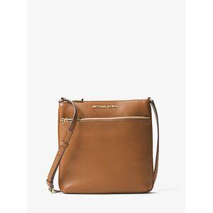 MICHAEL Michael Kors MK Riley Small Pebbled Leather Messenger Bag - Acorn - Michael Kors NS NS