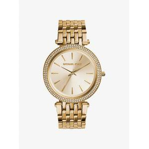 Michael Kors MK Darci Pavé Gold-Tone Watch - Gold - Michael Kors NS NS