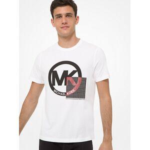 Michael Kors MK Logo Cotton T-Shirt - White - Michael Kors M M