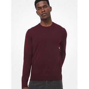 Michael Kors MK Merino Wool Sweater - Cordovan - Michael Kors L L