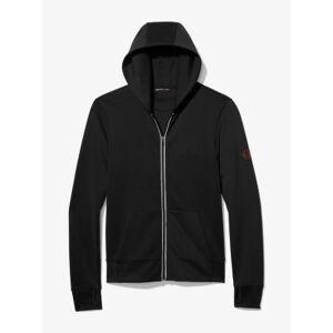 Michael Kors MK Zip-Up Hoodie - Black - Michael Kors XS XS
