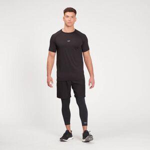 MP Men's Essentials Training 3/4 Leggings Baselayer - Black - XS