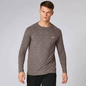 Myprotein Performance Long-Sleeve T-Shirt - Driftwood Marl - XL
