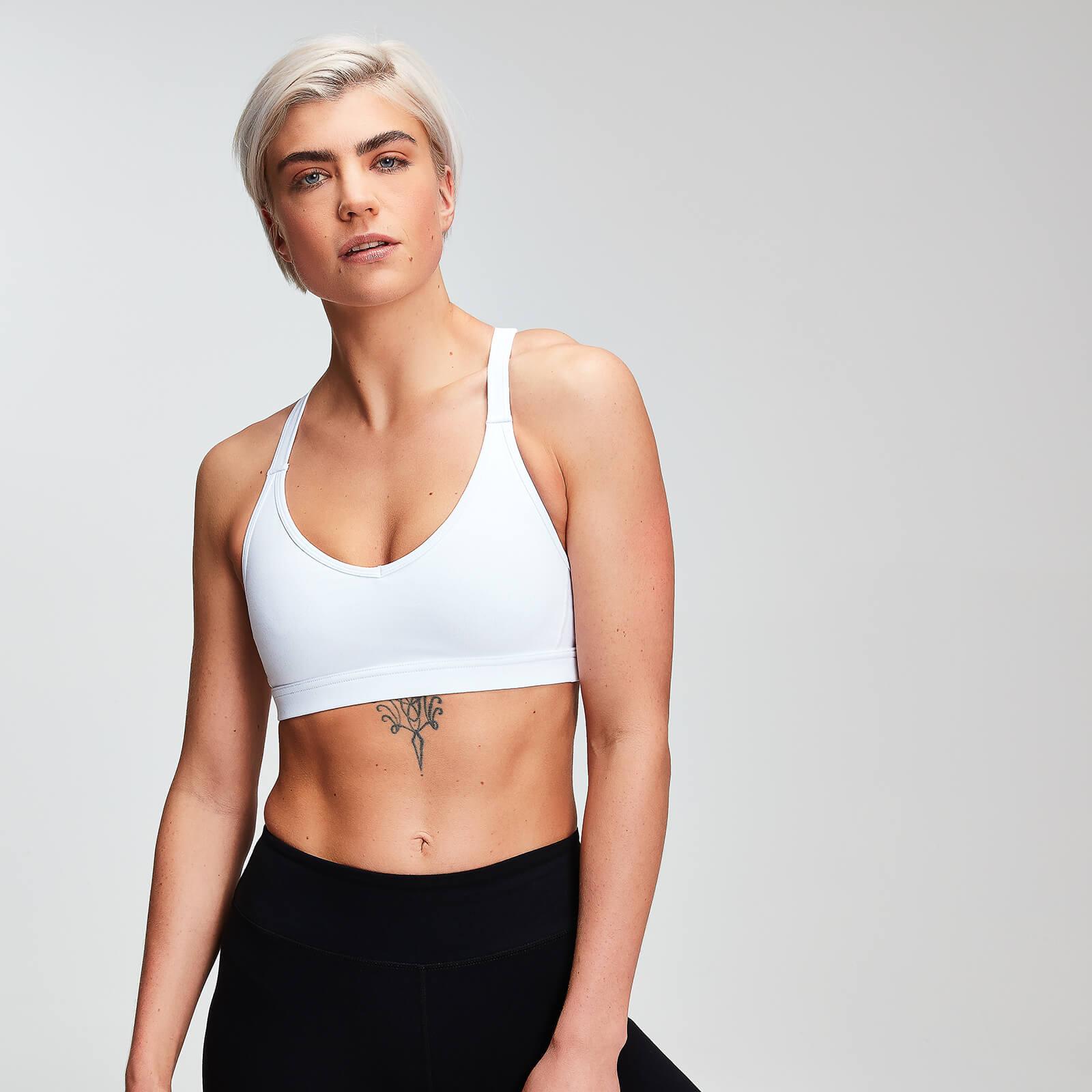 MP Women's Power Mesh Sports Bra - White - XL