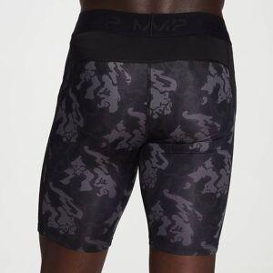 MP Men's Adapt Camo Base Layer Shorts -Black Camo - XXS