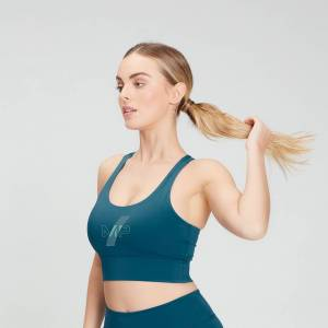 MP Women's Limited Edition Impact Sports Bra - Teal - S