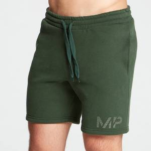 MP Men's Gradient Line Graphic Shorts - Dark Green - XL