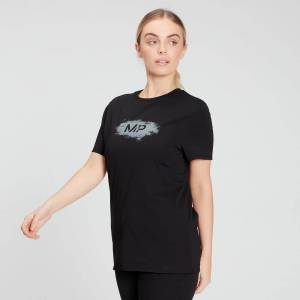 MP Women's Chalk Graphic T-Shirt - Black - XL