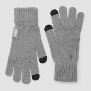 MP Knitted Gloves - Grey - M/L