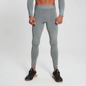 MP Men's Essentials Training Baselayer Leggings - Storm - XL
