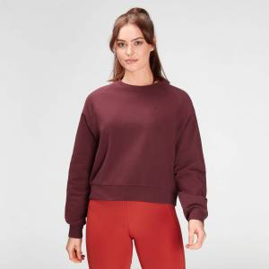 MP Women's Composure Sweatshirt- Washed Oxblood - M