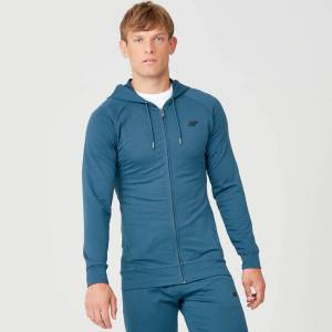Myprotein Form Zip Up Hoodie - Petrol Blue - L