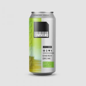 E-Sports Command Individual Cans - 440ml - Sour Apple