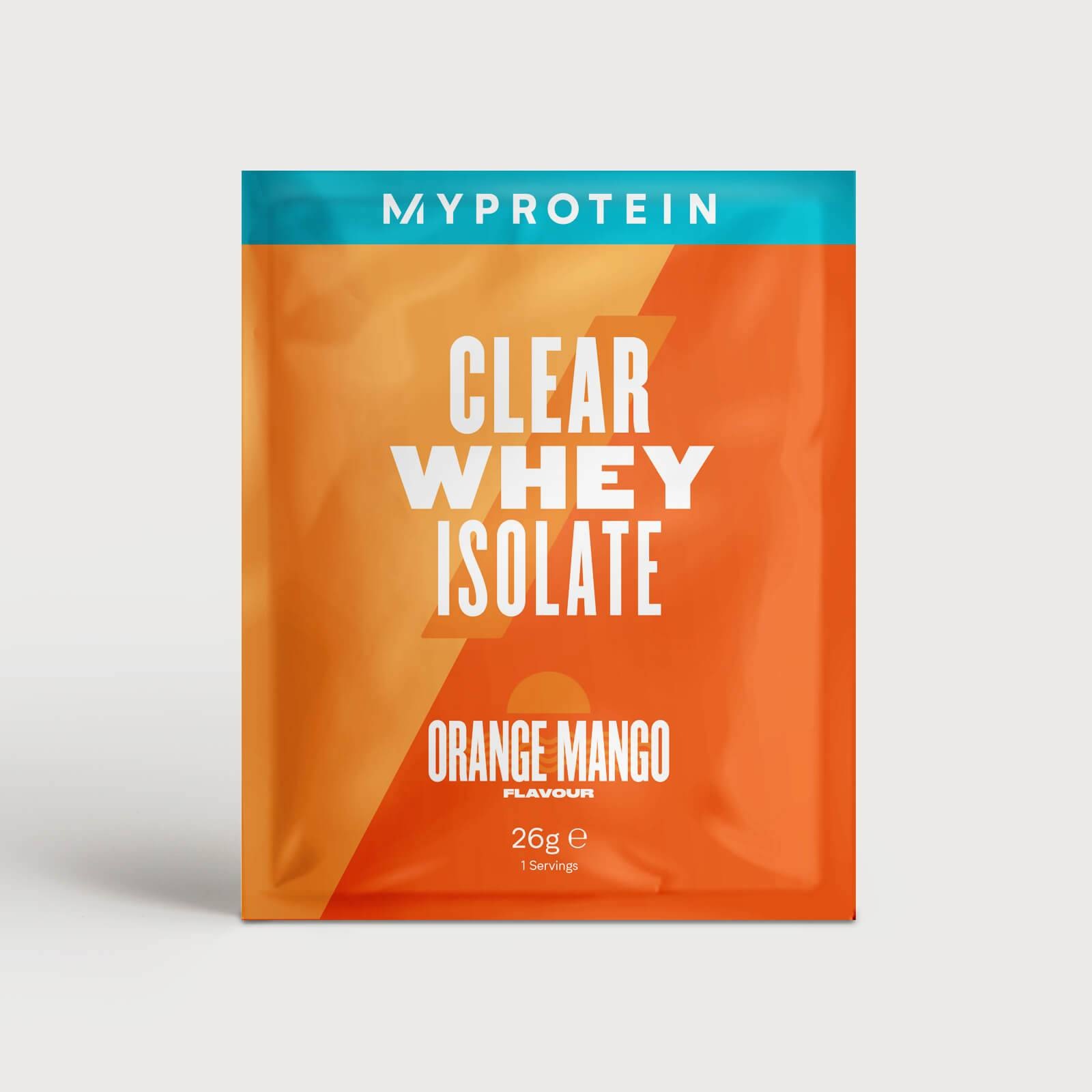 Myprotein Clear Whey Isolate (Sample) - 26g - Orange Mango