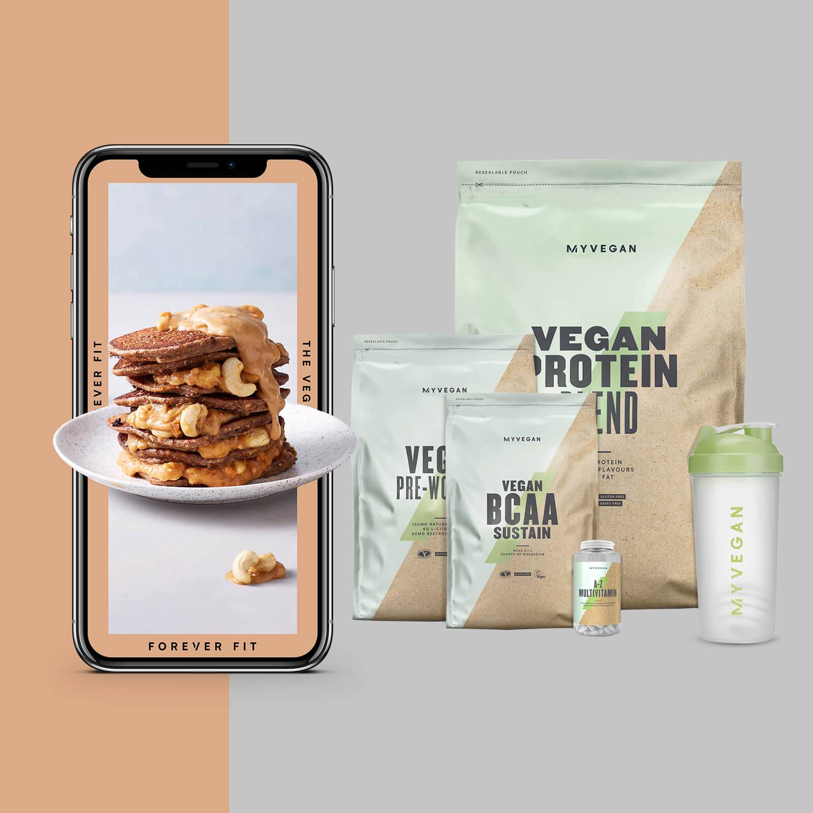 The Vegan Bundle + Free Training & Nutrition Guide - Lemon and Lime - Lemon Tea - Coffee and Walnut