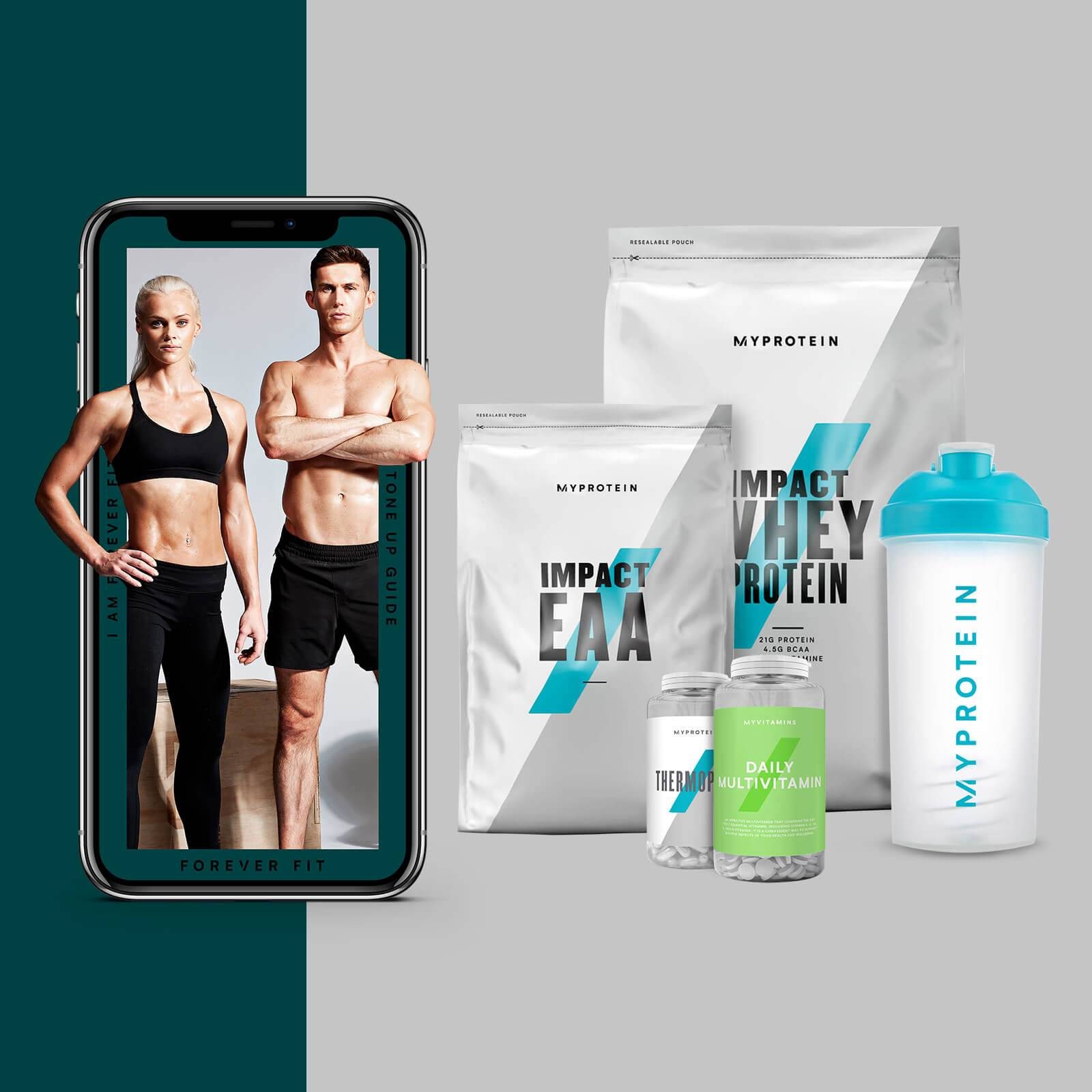 The Tone-Up Bundle + Free Training & Nutrition Guide - EAA - Grape - Chocolate Smooth