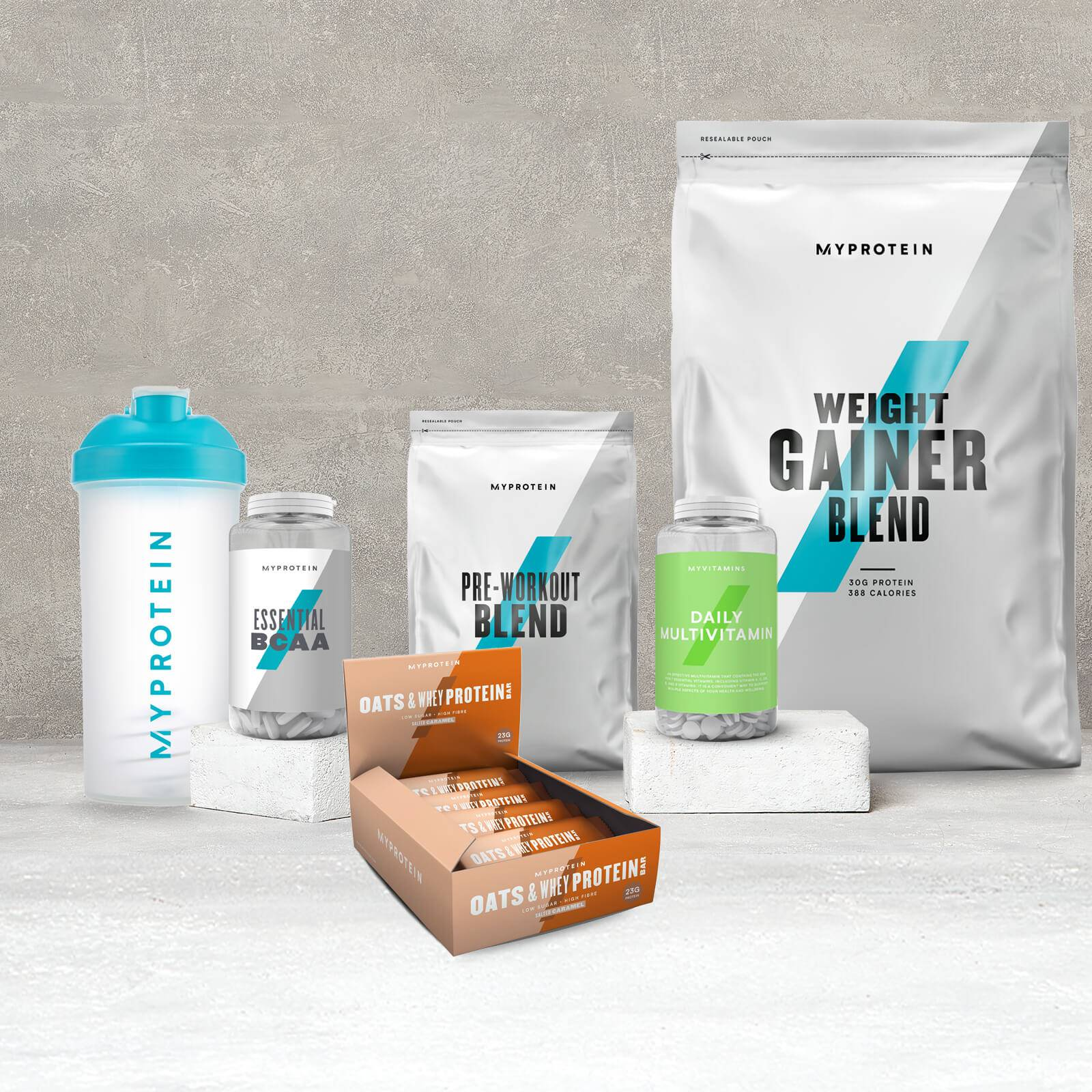 Maximum Gains Bundle - Chocolate Chip - Fruit Punch - Chocolate Smooth