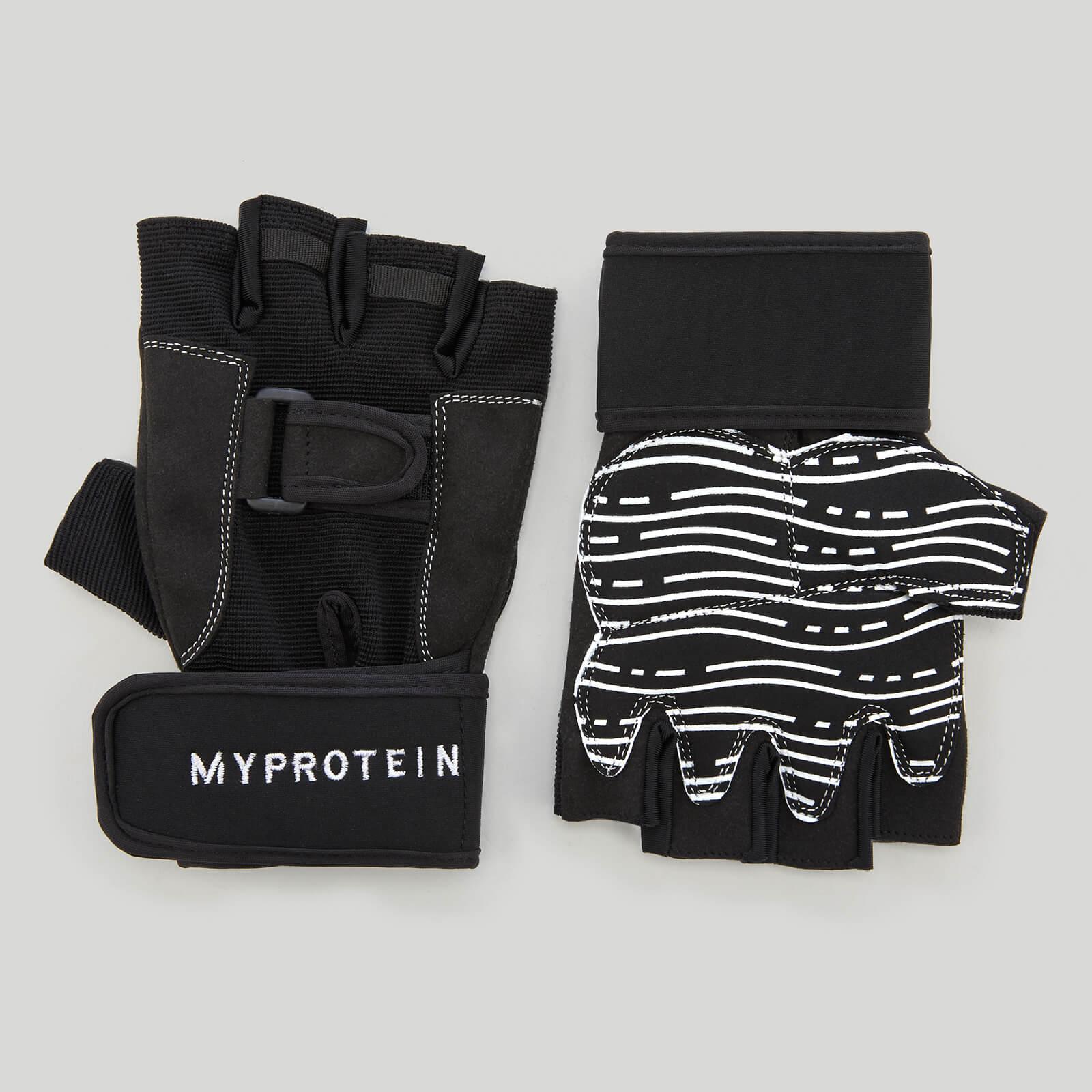 Myprotein Weightlifting Gloves - L - Black