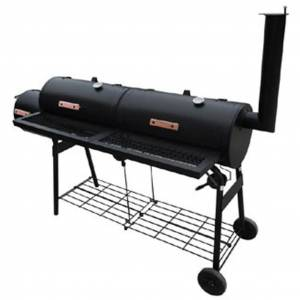 vidaXL Smoker BBQ Nevada XL Black