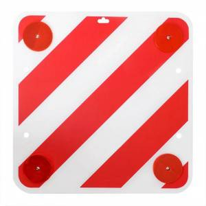 ProPlus Rear Warning Sign Plastic 50 x 50 cm with Reflectors 361228