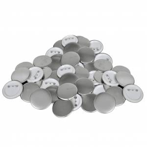 vidaXL Pinback Button Parts 500 Sets 58 mm
