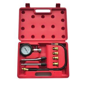 vidaXL 9-Piece Compression Test Kit Petrol Engine