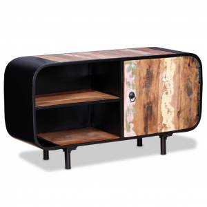 vidaXL TV Cabinet Reclaimed Wood 90x30x48 cm