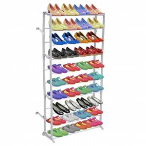 vidaXL 10 Tier Shoe Rack/Shelf