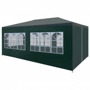 vidaXL Party Tent 3x6 m Green