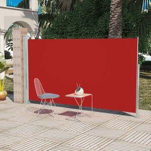 vidaXL Patio Terrace Side Awning 160 x 300 cm Red