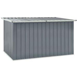 vidaXL Garden Storage Box Grey 171x99x93 cm