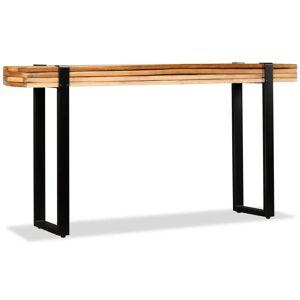 vidaXL Console Table Solid Reclaimed Wood Adjustable