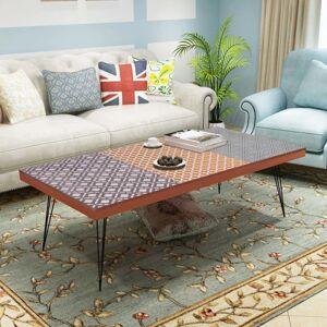 vidaXL Coffee Table 120x60x38 cm Brown