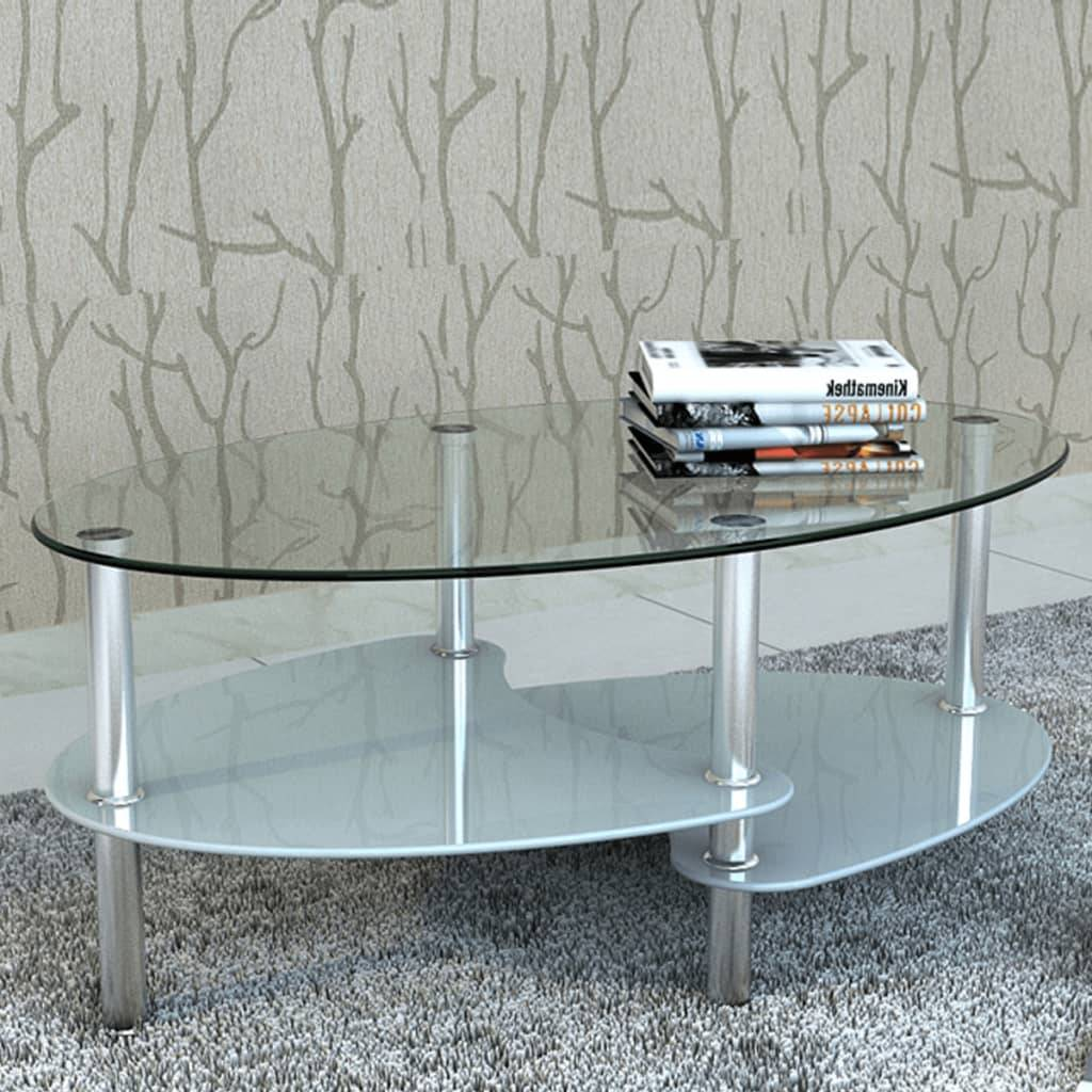 vidaXL Coffee Table with Exclusive Design White