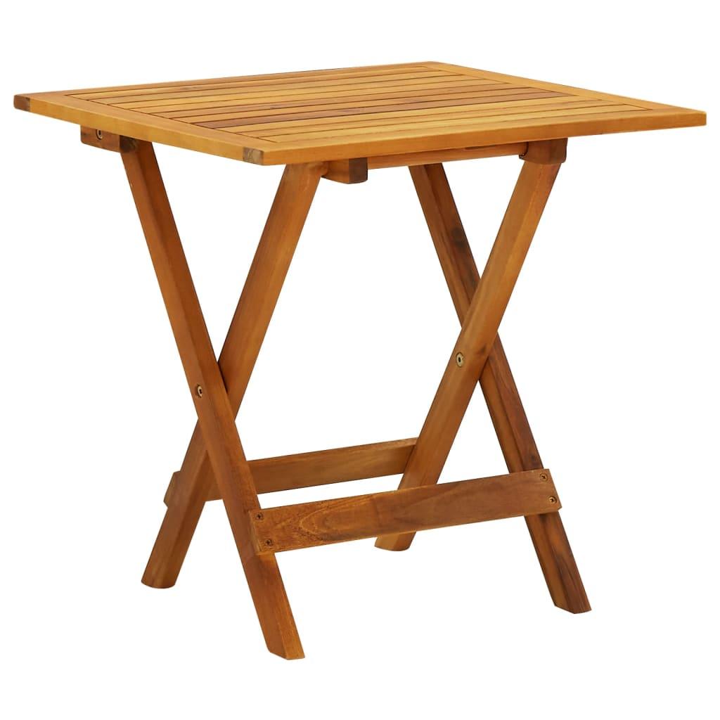 vidaXL Outdoor Coffee Table Acacia Wood