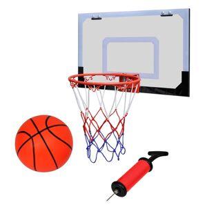 vidaXL Indoor Mini Basketball Hoop Set with Ball and Pump