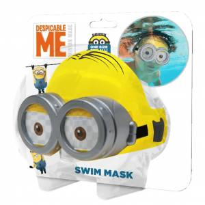 AK Sports Swimming Mask Minions Yellow MK902MI