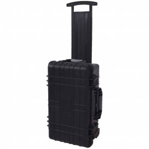vidaXL Wheel-equipped Tool/Equipment Case with Pick & Pluck