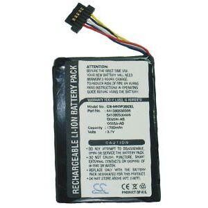 Mitac Mio Cyclo 300 battery (1700 mAh, Black)