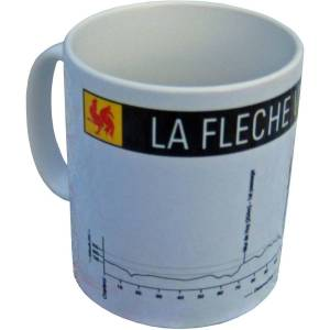 Cycling Souvenirs La Fleche Wallone Mug - One Size Multi   Gifts