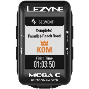 Lezyne Mega C GPS Cycle Computer - One Size Black   Computers